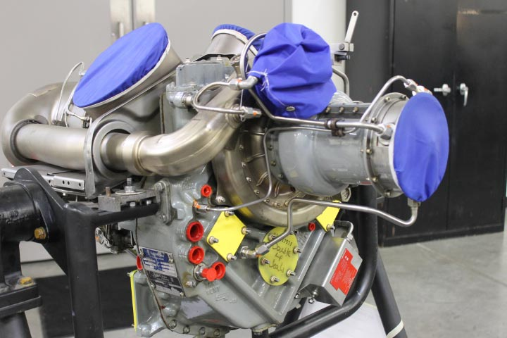 Allison C20B Turbine Engine